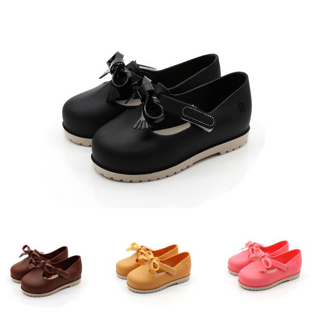 El Mini arco Princesa Sandalias de La Jalea de Melissa Melissa Zapatos Otoño Niños Soft Comfort Zapatos de Princesa Niñas Sandalias Sandalias de Los Niños