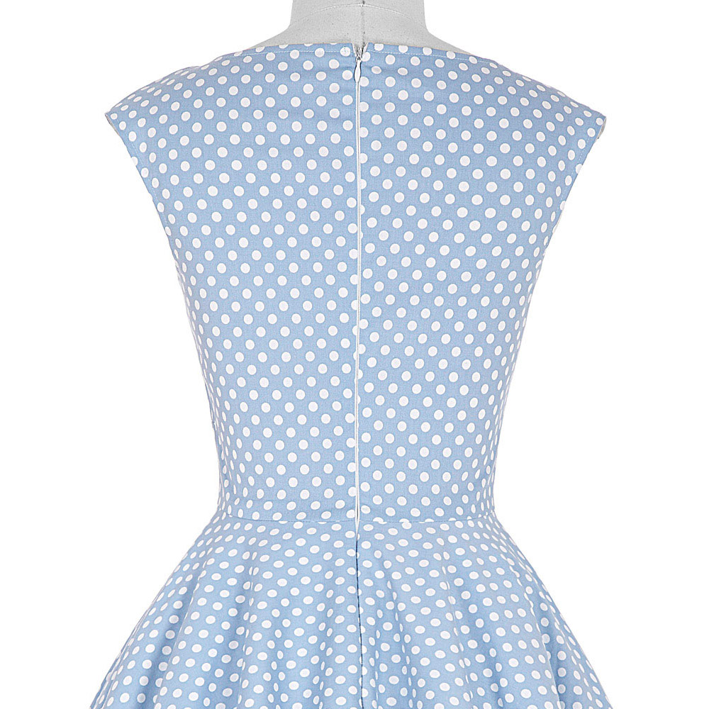 65ef847e9 Vestido de verano para mujer 2018 elegante túnica Casual Retro Rockabilly  Floral estampado bata ...