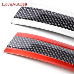 Image 4 - Защитная Наклейка для дверных порогов карбоновые автомобильные стильные накладки на пороги для Kia Sportage QL sorento