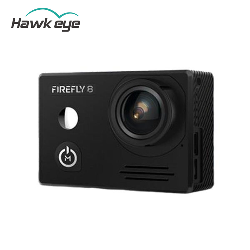 Hawkeye Firefly 8 170 Degree Bluetooth Remote Control WiFi FPV Action Sports Cam Camera Black for RC Drone Models Quadcopter f88 action camera black
