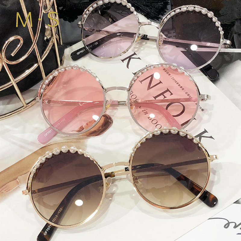 MS 2018 Women Luxury Decoration Classic Eyewear Female Sunglasses Original Brand Designer Sunglasses Sun Glasses Fashion UV400 ...