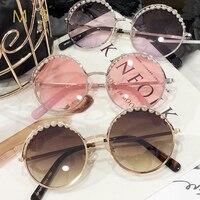 MS 2018 Women Luxury Decoration Classic Eyewear Female Sunglasses Original Brand Designer Sunglasses Sun Glasses Fashion