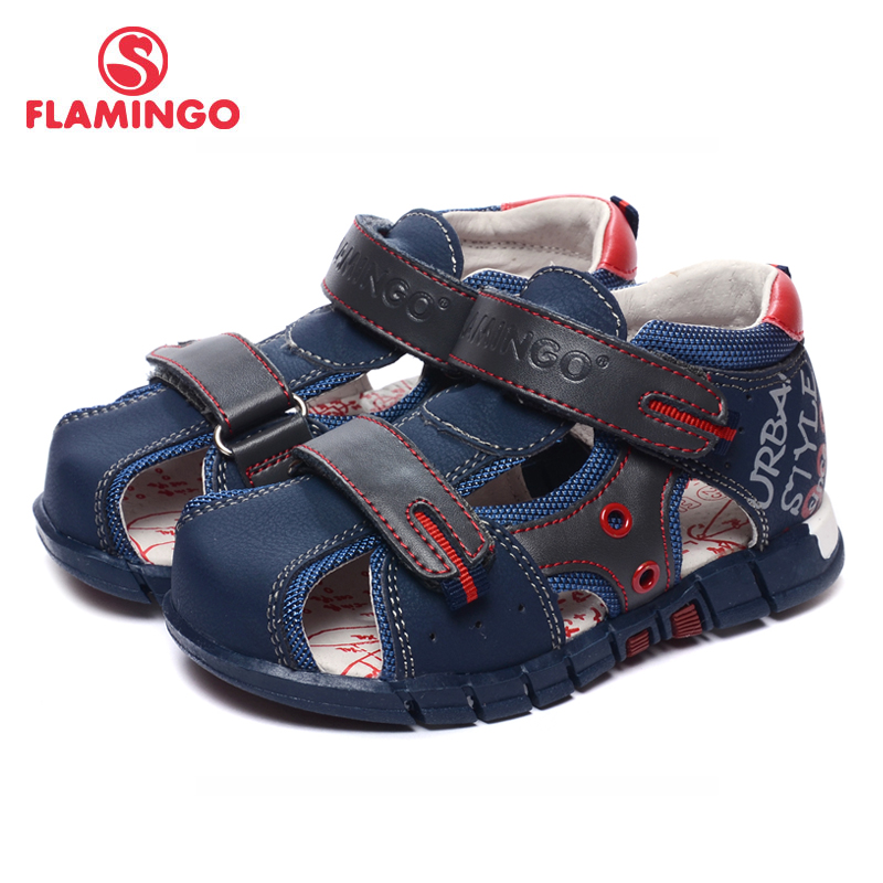 FLAMINGO famous brand 2017 New Arrival Spring & Summer Kids Fashion High Quality sandals for boys 71-XY-0002