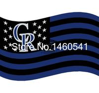 Colorado Rockies Nation Flag 3ft X 5ft Polyester MLB Team Banner Flying Size No 4 144