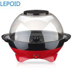 Máquina de palomitas de maíz eléctrico LEPOID para hacer Mini Palomitas de aire caliente automática para el hogar DIY máquina de cocina Popper de maíz