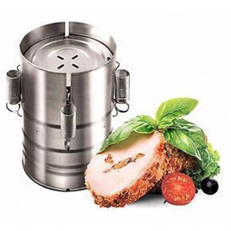 3 Layers Meat Cooking Hamburger Press Stainless Steel Ham Patty Burger Maker Mold Non rust Meat Poultry Tools Kitchen Products