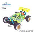 Venta caliente rc racing car 1/16 de motor sin escobillas esc hsp 94185pro eléctrico 4wd buggy