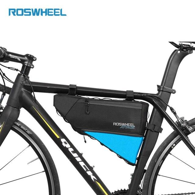 Bicycle Frame Bag Waterproof Bike Top Tube Bags Storage Cycling ...