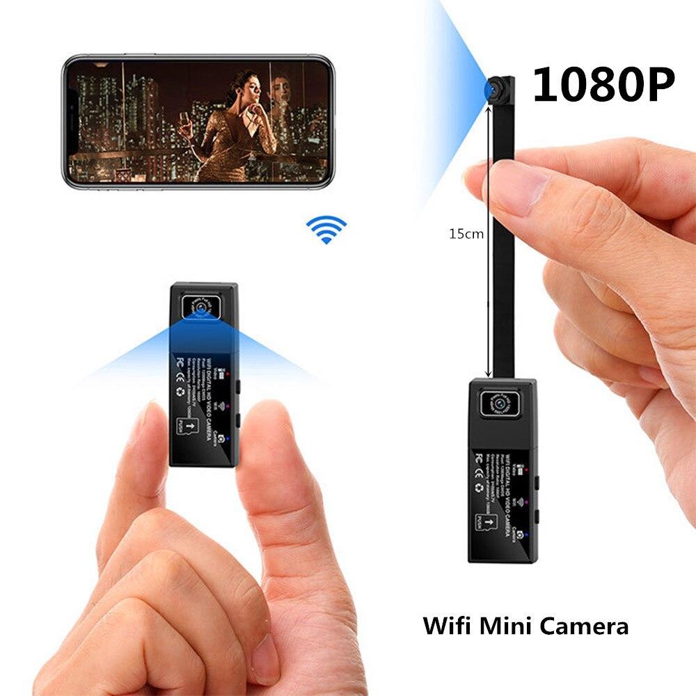 Full HD 1080 P Mini caméra Wifi double lentille sans fil télécommande caméra secrète détection de mouvement Micro caméra Dash enregistreur vidéo