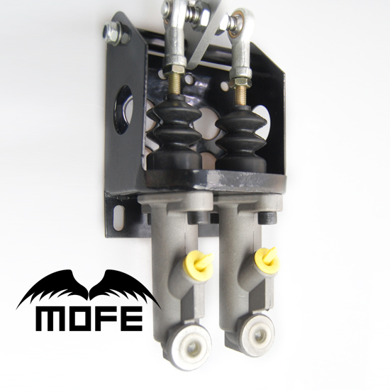 SEMA Products 0.75 INCH Double Master Cylinder Hydraulic Hand Brake