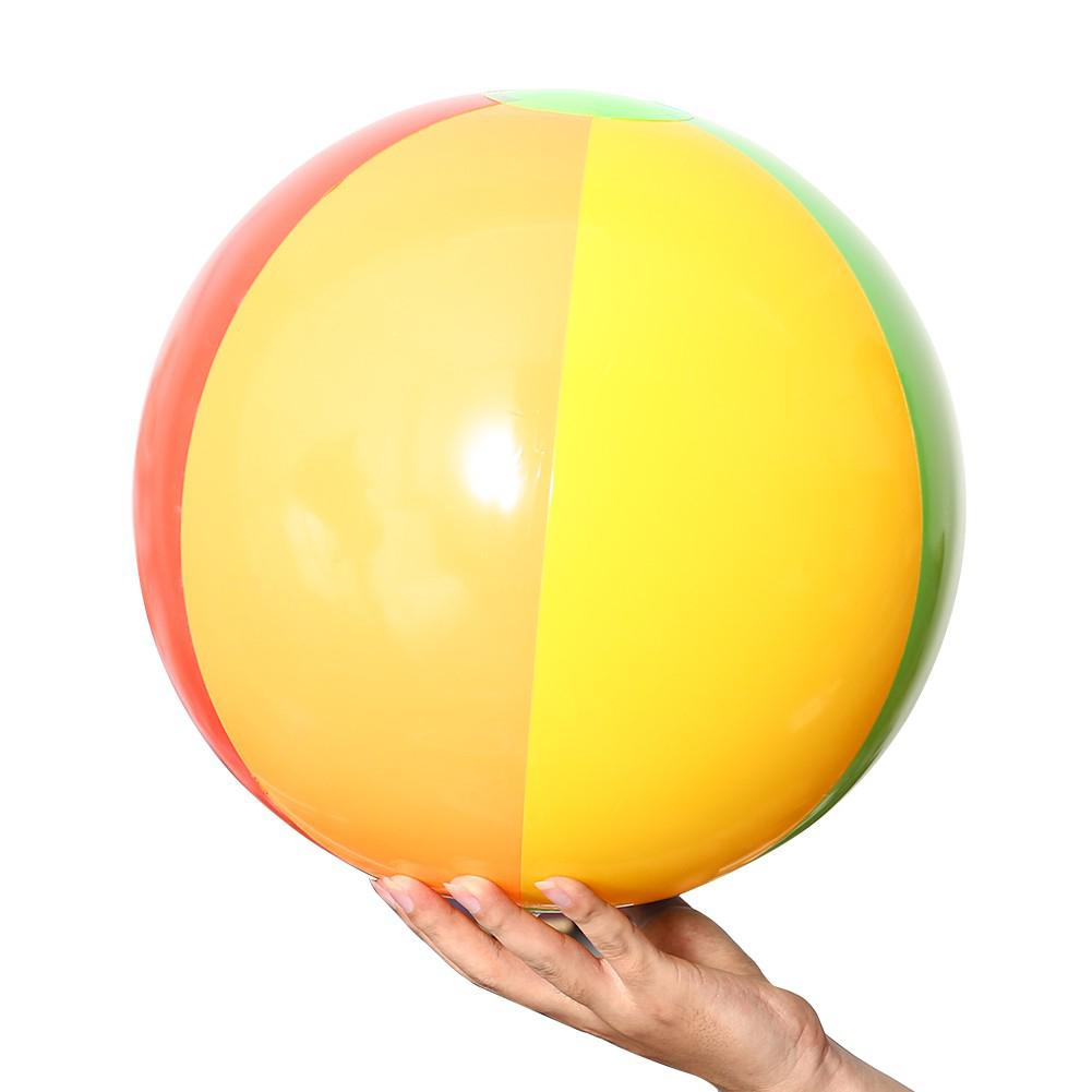 Mounchain 12 PCs Inflatable 6-Color Traditional Beach Balls Pool Party Toys Birthday Favors