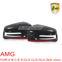 W219 CLS350 Replacement carbon fiber rearview mirror cover for Mercedes Benz CLS CLASS W219 09 12 Free shipping