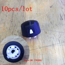 honghuismart 10pcs/lot Black  Volume knob for motorola GM338,GM360,GM380,GM398,GM140,GM340 etc car vehicle mobile radios