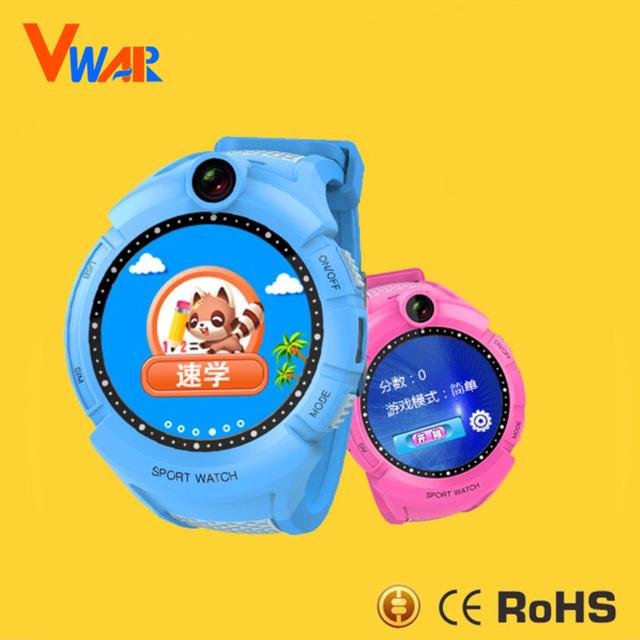 Vwar Vm50 Inteligente smartwatch SOS Relógio GPS com Tela Sensível Ao Toque Câmera Criança Do Bebê Anti-Perdido Do Monitor Rastreador Relógios Telefone para as crianças