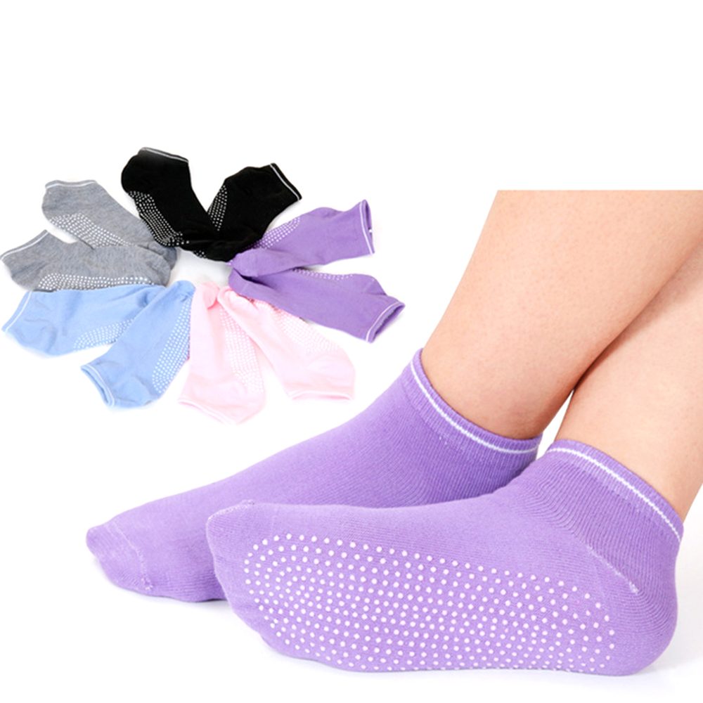 Yoga Socks Women Fitness Sports Socks Non-slip Soft Breathable Pilates  Gym Sport Socks for Women