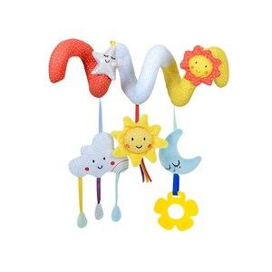 Image 5 - Eğitici bebek çıngıraklar cep telefonları hayvan Spiral çıngıraklar oyuncaklar bebek arabası yatak çan yatak bebek oyun arabası askılı oyuncaklar