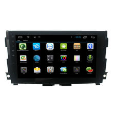 For Android 4.4 10.1inch Big Screen Car DVD Player for Nissan Teana with GPS Navigation Bluetooth SWC Radio built mirror link