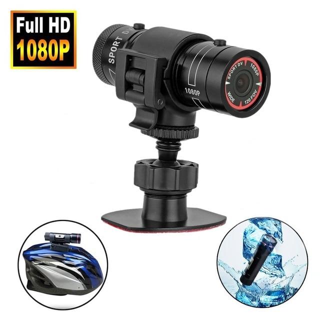 DV Recorder Camcorder Mini Video Recorder For Outdoor Hunting Metal Helmet Camera FHD 1080P Torch Gun Camera Head Cam Bullet