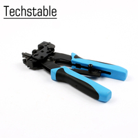 1pc F Type Cable Pliers Heavy Duty Coaxial Cable Compression Crimper Crimp Tool for RG59 RG6 F BNC RCA Crimping Plier|Pliers| |  -