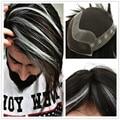 Прохладный Высокие Светлые Волосы Мужские Тупею Реми Волосы Toupee для мужчин Швейцарский Lce и PU Базы Мужские Волосы Частей H041