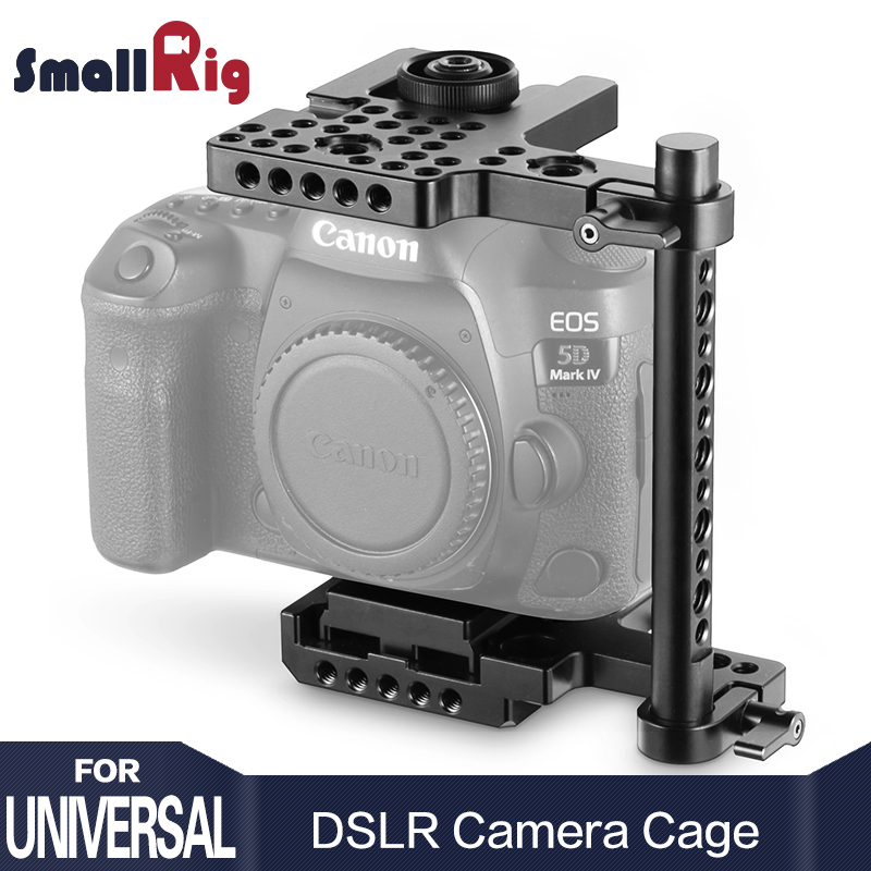 SmallRig Quick Release DSLR Camera Cage (Middle) For Canon 5D, 5DmkII / 5DmkIII / 5DmkIV For Nikon D750 / D800 / D810 2127SmallRig Quick Release DSLR Camera Cage (Middle) For Canon 5D, 5DmkII / 5DmkIII / 5DmkIV For Nikon D750 / D800 / D810 2127