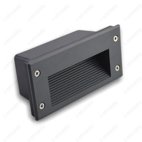 Install Porch Light Junction Box: 3W LED Outdoor Wall Light Fixture Recessed Lamp Stage