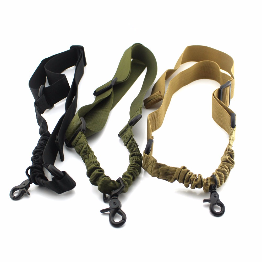 Tactical Adjustable Nylon Rifle Gun Sling Strap System Military Heavy Duty Gun Sling Airsoft Hunting Sling