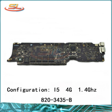"""A1465 Logic Board i5 1.4GHz 4GB for Macbook Air 11.6"""" Motherboard Compatible 2013 2014 Year 820-3435-A 820-3435-B"""