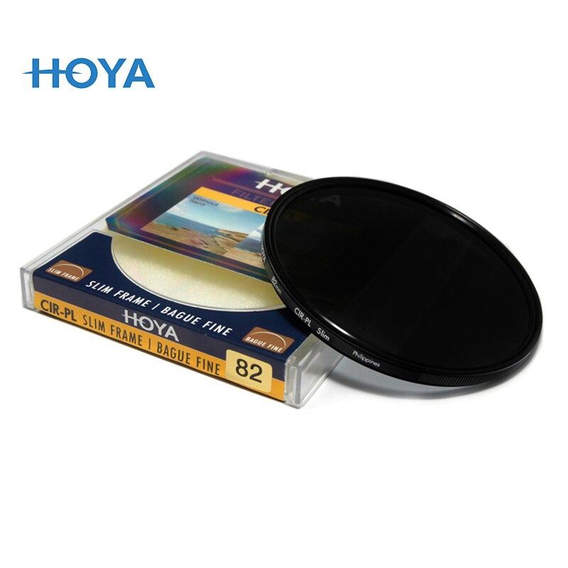 HOYA CPL Filtre Mince Circulaire Polariseur CIR-PL Filtre 49 52 55 58mm 62 67mm 72mm 77mm 82mm Pour Nikon Canon FUJIFILM Sony Lentille