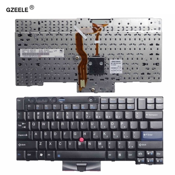 GZEELE New for Lenovo for Thinkpad for IBM T410 T410S T400S T520 T420 X220 W500 T510 W510 English laptop keyboard US FRU 45N2141 new english backlit keyboard for lenovo ibm thinkpad e480 t480s l480 l380 yoga laptop 01yp360 01yp520 laptop us black