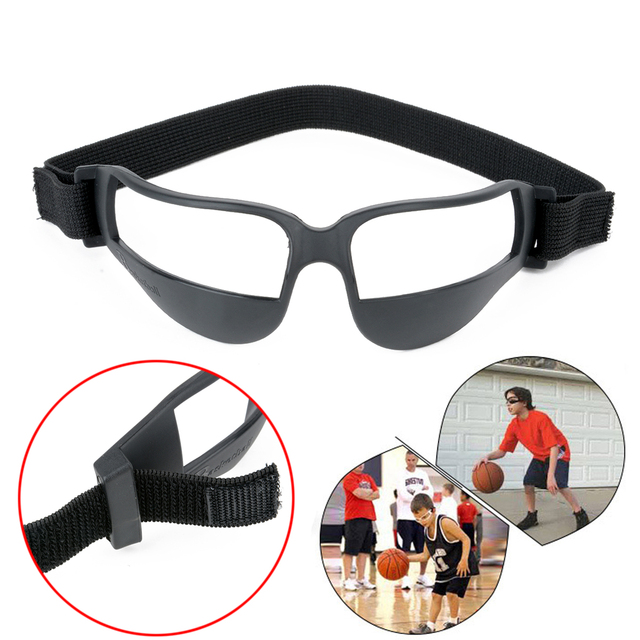 6b520798d120 Mayitr High Quality Basketball Anti Down Dribble Glasses Heads Up Sports Training  Dribbling Specs Goggles