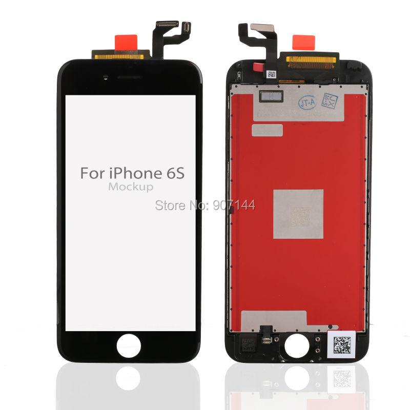 Prix pour 4.7 Grade AAA Aucun Pixel Mort Pour iPhone 6 s LCD Affichage avec 3D Écran Tactile Digitizer Assemblée Noir ou Blanc Livraison DHL gratuite