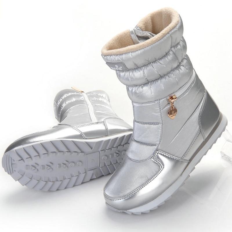 Women Winter Snowboots 2018 Women's Shoes Wedges Heels ...