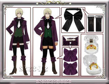 Anime Black Butler Season 2 Earl Alois Uniform Trancy Cosplay Party Costume Custome With Ring - DISCOUNT ITEM  24% OFF All Category