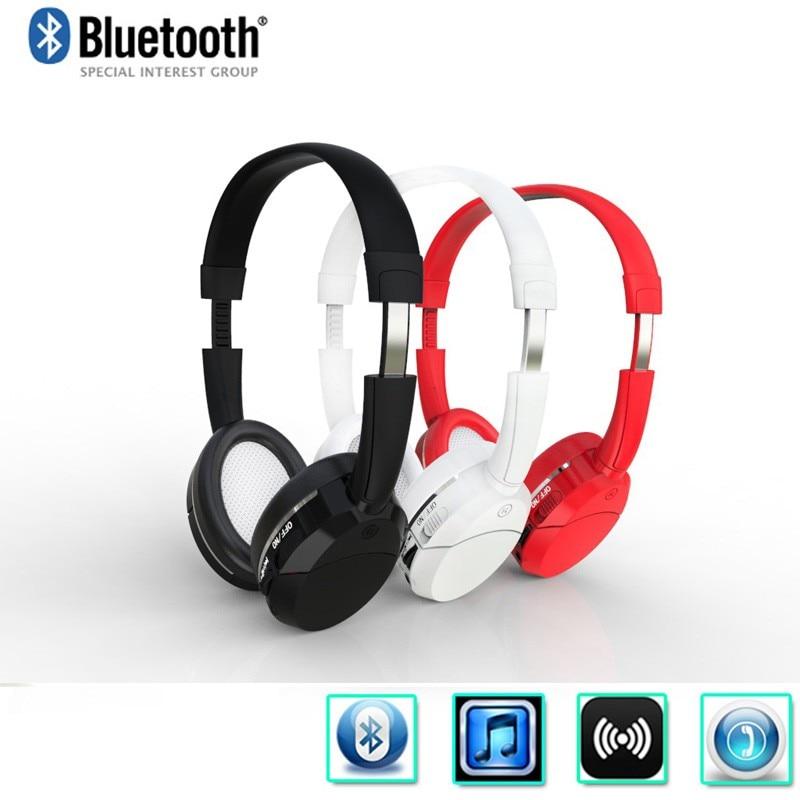 Wireless Bluetooth Stereo Handsfree Headset Headphones Earphone with Micphone for iPhone Samsung HTC PC high quality 2016 universal wireless bluetooth headset handsfree earphone for iphone samsung jun22