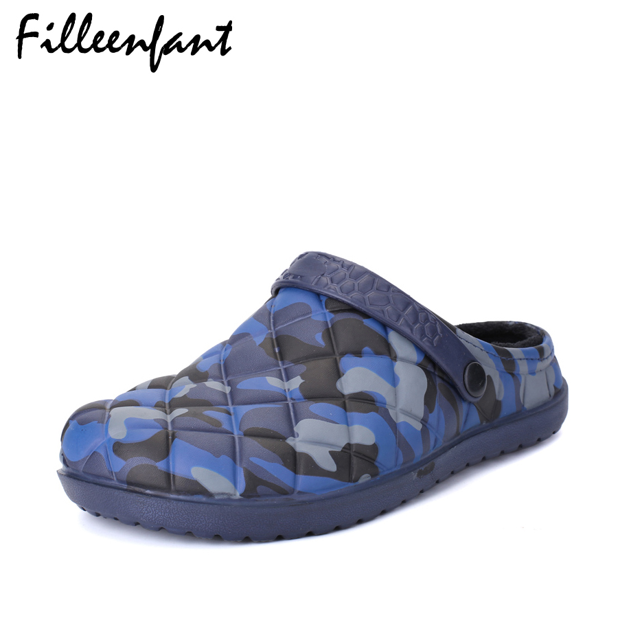 Camouflage Mens Slippers