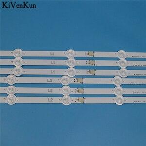 Image 4 - Nowa listwa oświetleniowa LED HD do LG 50LA6130 50LA6134 50LA6136 50LA6150 50LA6154 50LA6156 zestaw prętów ZB taśmy telewizyjne LED