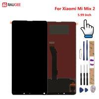 Для Xiaomi Mi Mix 2 ЖК-дисплей + сенсорный экран 5,99 дюймов протестированный новый дигитайзер сборка Замена для Xiaomi Mi Mix 2