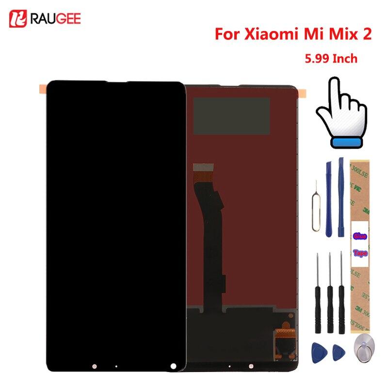 Para Xiao mi mi mi x 2 Display LCD + Touch Screen 5.99 polegadas Testado Nova Substituição Digitador Assembléia Para xiao mi mi mi x 2