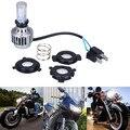 Plug Play Ba20d H4 Levou Lâmpada Do Farol Alto Farol Baixo oi Lo Motocicleta 3000lm 6000 K Farol Turbo Motos Acessórios Para Harley