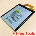 Top Quality Battery Replacement For Lenovo VIBE Z K910 K 910 K910e Mobile Phone Backup Baterai BL216 BL-216 Repair Parts + Tools