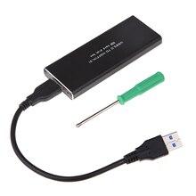 M2 NGFF SSD жесткий диск Корпуса для жёстких дисков Box Turn USB 3.0 m2 NGFF SSD на USB 3.0 Алюминий сплав Поддержка для win8/7/Vista/XP MAC