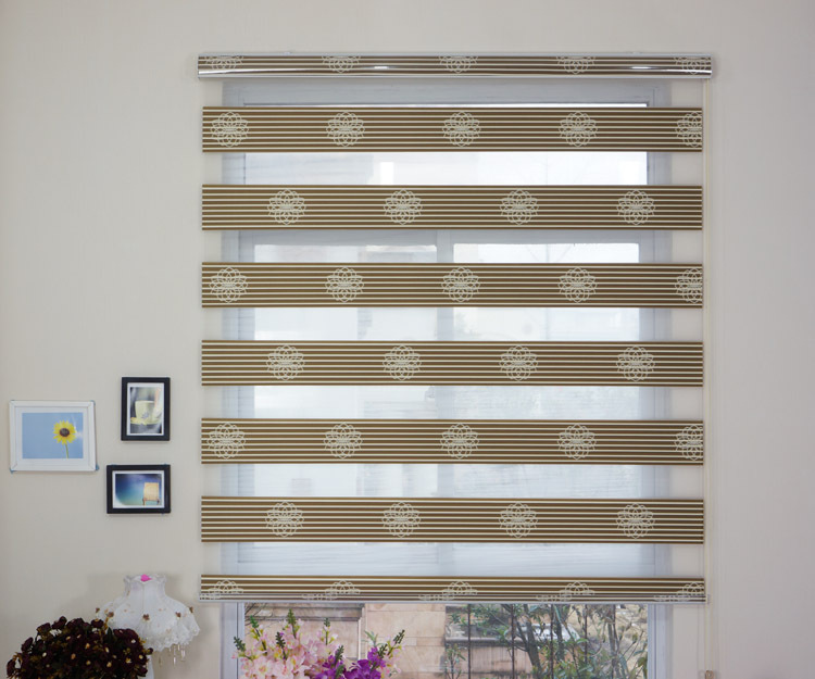 2016 Weekend Customized Kitchen Blind Curtain Blue Striped