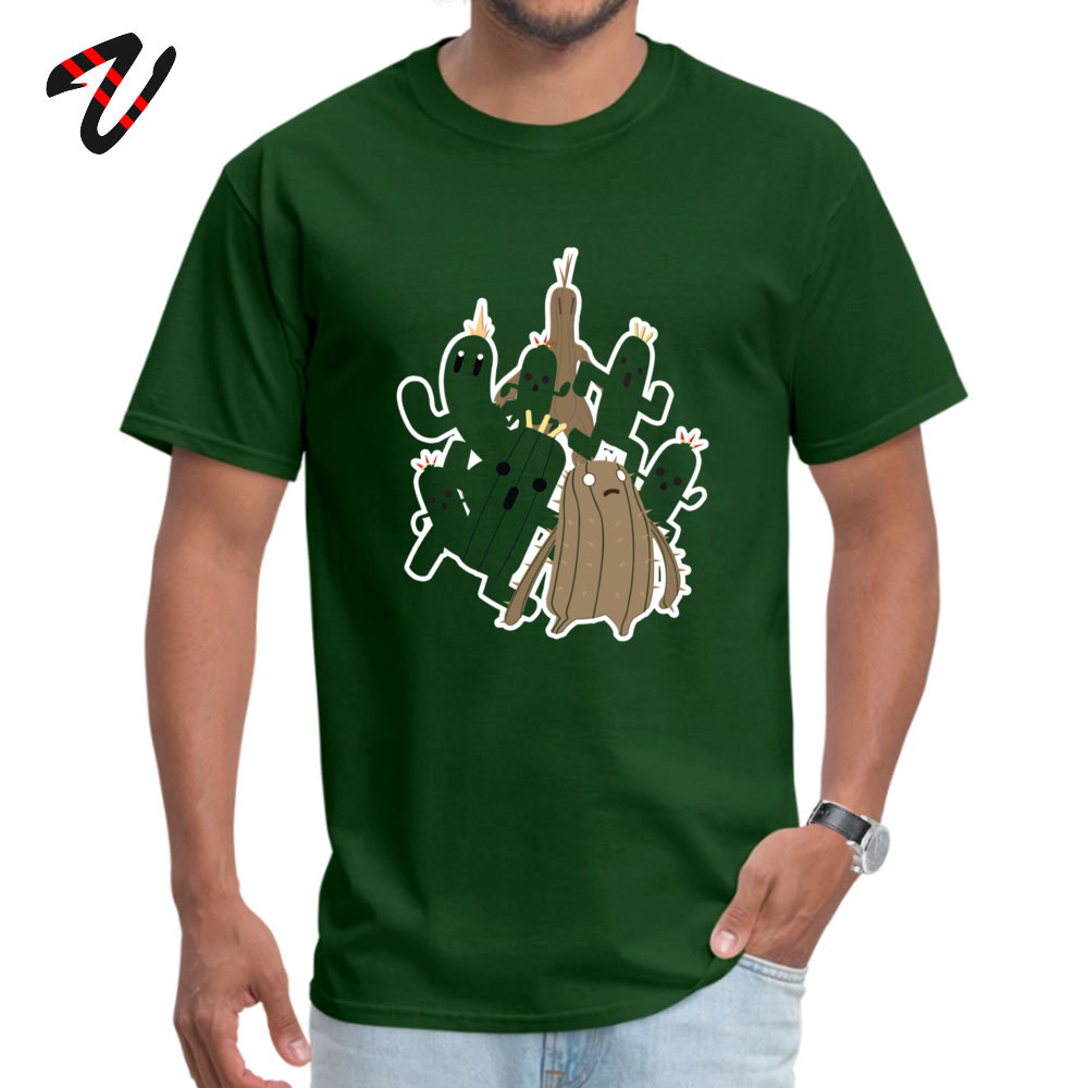 Youth Brand New Summer Tees Crewneck Thanksgiving Day 100% Cotton T-Shirt Casual Short Sleeve Cactuar Tee-Shirts Cactuar16762 dark