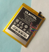 Original Mix 2 Battery New Oukitel Mix 2 Mobile Phone Battery 4080mAh FREE SHIPPING With Tracking