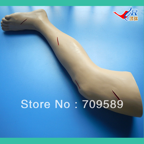 ISO HR/LV2 Advanced Surgical Suture Training  Leg, Suturing Model bix lf2 advanced surgical leg suture training model g001