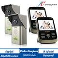 2v2 wireless doorbell digital door phone support auto take photo