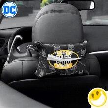 Maravilha Batman estilo tipo guardanapo titular caixa do tecido carro Caixa De Tecido viseira Carro caixa de tecido carro titular assento de carro Auto acessórios