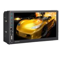 VODOOL 2Din 7in Сенсорный экран Bluetooth, Wi Fi Android 1080 P автомобиля MP5 плеер FM Радио MP3 AUX аудио gps навигация вспять изображения