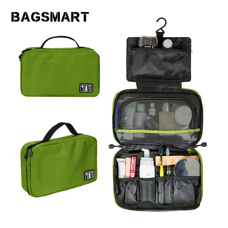 BAGSMART 2017 New High Quality Women and Men's Travel Bag Men's Wash Travel Bag Men Portable Business Travel Toiletry Bag